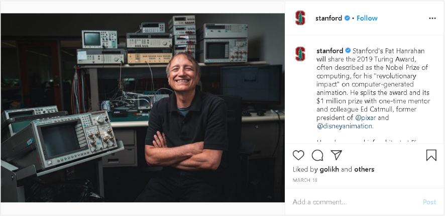 examples of great higher education social media marketing on Instagram