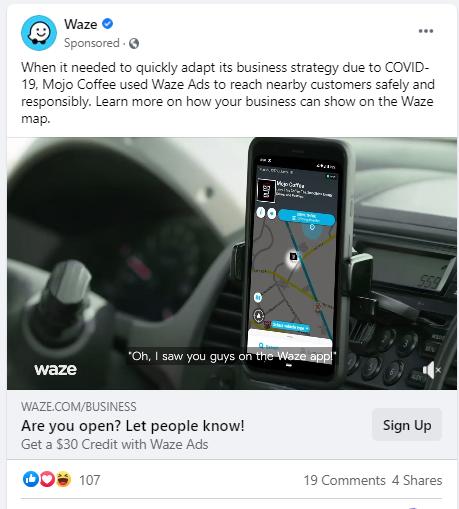Example of Google AdWords Platform