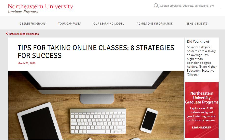 Content Marketing for Higher Ed Graduate Schools