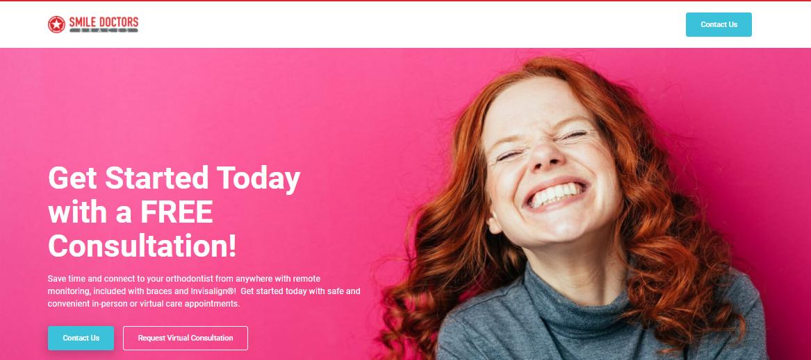 Dental website telehealth service