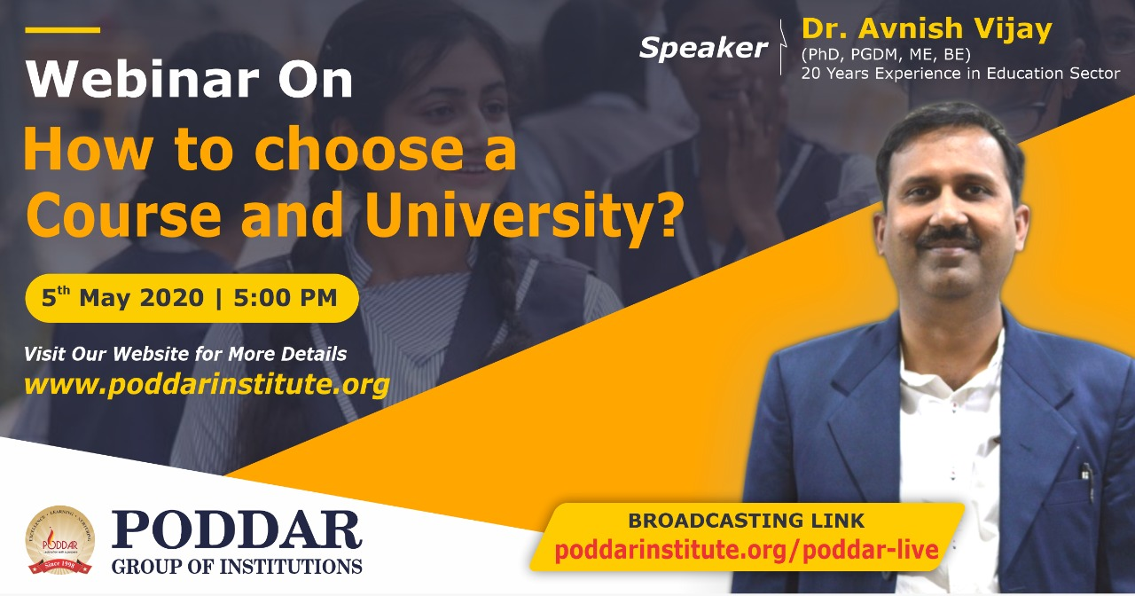 Webinar for college students