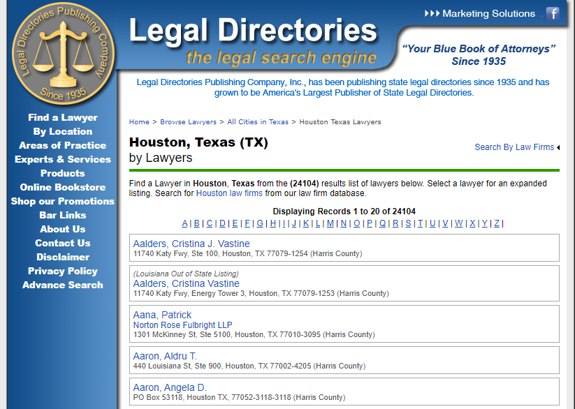 Directory listing should have consistent NAP for Local SEO
