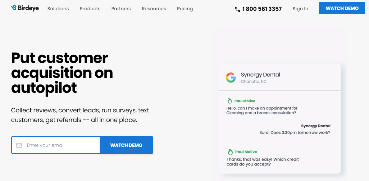 solicit reviews by using an automation platform