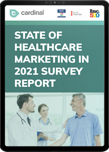 CM_State of Healthcare Marketing in 2021 survey_02 580x730
