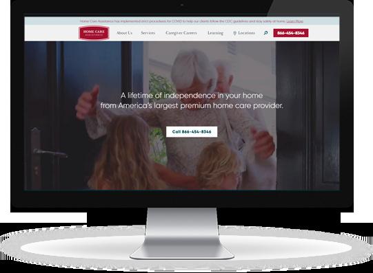 Home Care Website