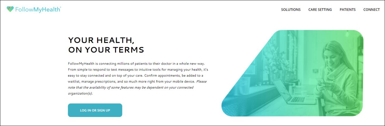 Personalized Patient Portal