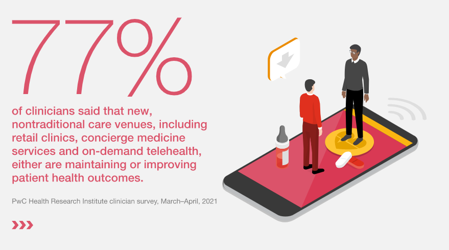 Nontraditional healthcare venues are improving patient outcome