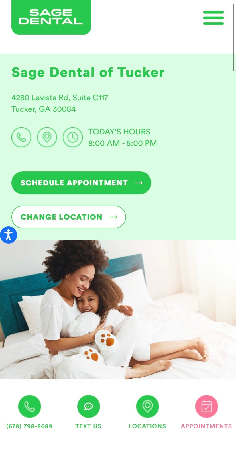 optimize dental pages for mobile experience